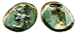 Ancient Coins - PERSIA, LYDIA, GREAT ACHAEMENID KINGS, circa 490 - 375 BC, SILVER SIGLOS, SPEAR AND BOW TYPE! ON SALE!