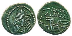 Ancient Coins - PARTHIA: Osroes II; c. A.D. 190; Silver Drachm, Mint of Ecbatana, EF