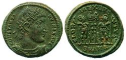 Ancient Coins - ROMAN, IMPERIAL: CONSTANTINE I. THE GREAT, Æ FOLLIS, MINT OF ANTIOCH, SUPERB EF