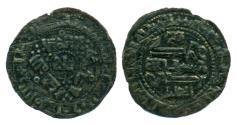 World Coins - QARAKHANID: Nasr b. Ali, SCARCE AE fals, Mint of Ferghana, AH 388, Stylish!