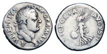 VITELLIUS, 69 AD.  AR Denarius.  Rare.