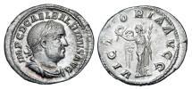 Ancient Coins - BALBINUS, 238 AD.  AR Denarius.