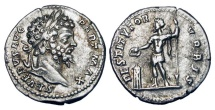 SEPTIMIUS SEVERUS, 193-211 AD.  AR Denarius.