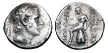 Ancient Coins - SELEUKID KINGDOM.  Antiochos III, 223-187 BC.  AR Tetradrachm.