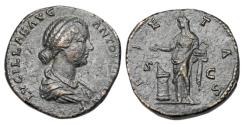 Ancient Coins - LUCILLA, wife of Verus, 161-169 AD.  ® Sestertius.
