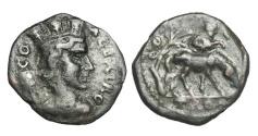 Ancient Coins - TROAS, Alexandria.  II Century AD.  AE22.  ex. Charles Reeve, active 1890-1930.