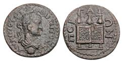 Ancient Coins - PAMPHYLIA, Perga.  Philip II, 247-249 AD.  Æ24.  ex Clain-Stefanelli collection.