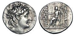 Ancient Coins - SELEUKID KINGDOM. Alexander II Zebinas, 128-123 BC.  AR Tetradrachm.