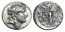 Ancient Coins - SELEUKID KINGDOM.  Antiochos VII, 138-129 BC.  AR Tetradrachm.