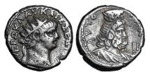 Ancient Coins - ROMAN EGYPT.  Nero, 54- 68 AD.  Billon Tetradrachm.