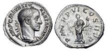 Ancient Coins - SEVERUS ALEXANDER, 222-235 AD.  AR Denarius