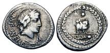 Ancient Coins - ROMAN REPUBLIC. Mn. Fonteius C. f. 85 BC. AR Denarius..