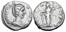 Ancient Coins - DIDIA CLARA, daughter of Didius Julianus, 193 AD. AR Denarius.