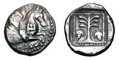 Ancient Coins - TROAS, Skepsis.  460-400 BC.  AR Drachm.  Very Rare.