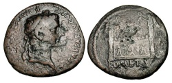 Ancient Coins - TIBERIUS, 14-37 AD.  Æ As.