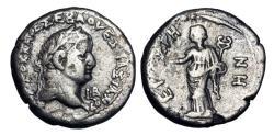 Ancient Coins - ROMAN EGYPT. Vespasian, 69-79 AD.  AR Tetradrachm.