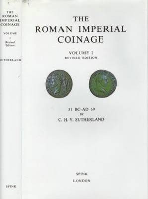 Ancient Coins - RIC2:  Sutherland, Carol.  The Roman Imperial Coinage Volume 1