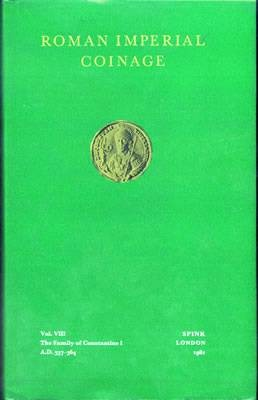 Ancient Coins - RIC8:  Kent, John.  The Roman Imperial Coinage Volume 8