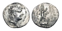 Ancient Coins - SELEUKID KINGDOM.  Antiochus IX, 113-95 BC.  AR Drachm