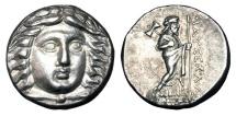 Ancient Coins - SATRAPS of CARIA.  Maussollos, 377-353 BC.  AR Tetradrachm