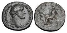 Ancient Coins - ANTONINUS PIUS, 138-160 AD.  AE Sestertius.  ex. Lustig collection.