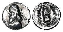 Ancient Coins - PERSIS.  Napad,  I-II Century AD.  AR Drachm.