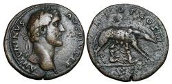 Ancient Coins - ANTONINIUS PIUS, 138-161 AD.  Æ Sestersius