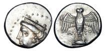 Ancient Coins - PONTOS, Amisos.  V-IV Century BC.  AR Heavy Siglos.