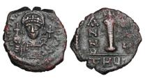 Ancient Coins - BYZANTINE EMPIRE.  Justinian I, 527-565 AD.  Æ Dekanummium.