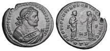 Ancient Coins - DIOCLETIAN, 285-305 AD.  Æ Post Abdication Follis.