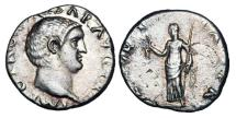Ancient Coins - OTHO, Jan-Apr 69 AD.  AR Denarius.  Rare.