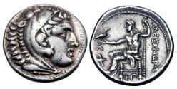 Ancient Coins - KINGDOM OF MACEDON.  Alexander III, 336-323 BC.  AR Tetradrachm.