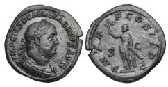 Ancient Coins - BALBINUS, April-July 238 AD.  AE Sestertius.  ex. Hoffman collection.