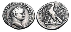 Ancient Coins - Antioch.  Vespasian, 69-79 AD.  AR Tetradrachm.