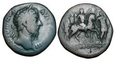Ancient Coins - MARCUS AURELIUS, 161- 180 AD.  Æ Sestertius