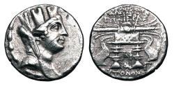 Ancient Coins - Seleukeia Pieria.  II-I Century BC.  AR Tetradrachm.
