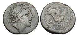 Ancient Coins - CARIA, Rhodes.  120-84 BC.  Æ27.