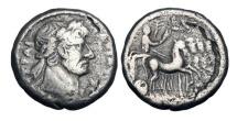Ancient Coins - ROMAN EGYPT.  Trajan, 98-117 AD.  AR Tetradrachm