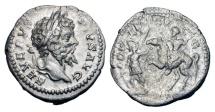 Ancient Coins - SEPTIMIUS SEVERUS, 193-211 AD.  AR Denarius, 202-10.