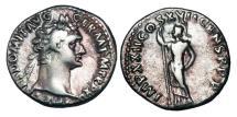 Ancient Coins - DOMITIAN, 81-96 AD.  AR Denarius.