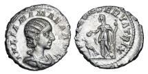 Ancient Coins - JULIA MAMAEA d.235 AD.  AR Denarius.