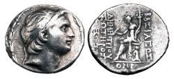 Ancient Coins - SELEUKID KINGDOM. Demetrios I Soter, 162-150 BC.  AR Tetradrachm.