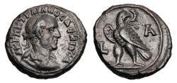 Ancient Coins - ROMAN EGYPT.  Trajan Decius, 249-251 AD.  Billon Tetradrachm.