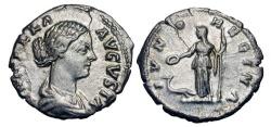 Ancient Coins - LUCILLA, wife of Verus, 161-169 AD.  AR Denarius.