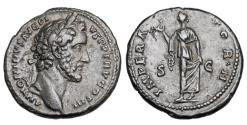 Ancient Coins - ANTONINUS PIUS, 138-161 AD.  Æ As.