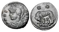 Ancient Coins - URBS ROMA, 326-340 AD.   AE Follis