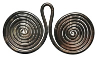 Ancient Coins - Coil Wound Pendant.  Celtic Europe, 900-700 BC.