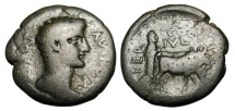 Ancient Coins - PHOENICIA, Berytus.  Augustus, 27 BC-14 AD.  Æ25.
