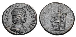 Ancient Coins - JULIA DOMNA, wife Sept. Severus.  Æ As.
