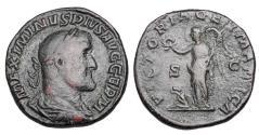 Ancient Coins - MAXIMINUS I THRAX, 235-238 AD.  Æ Sestertius.